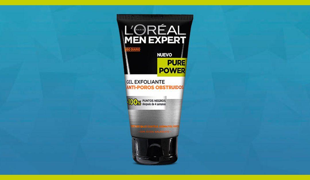 Consigue gratis una muestra del Gel Exfoliante de L'Oréal Men Expert