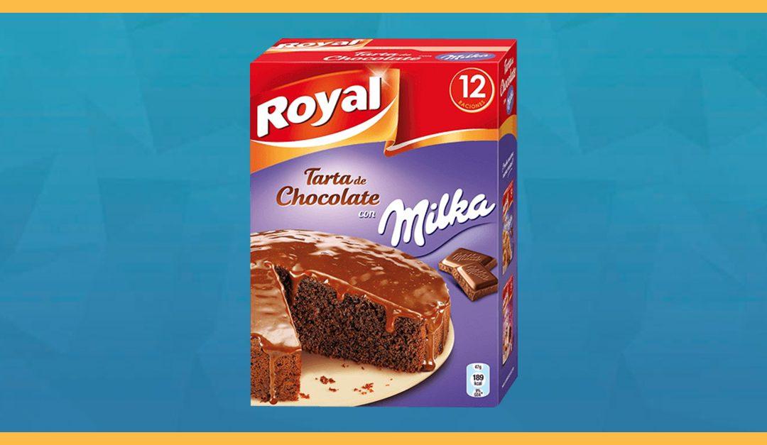 Consigue gratis un pack para preparar tarta Royal de Chocolate Milka