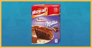 gratis un pack para preparar tarta Royal de Chocolate Milka