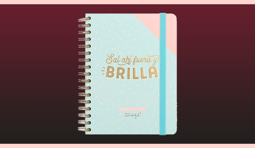 Consigue gratis la agenda Mr. Wonderful 2018
