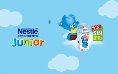 gratis un lote de Nestlé Junior