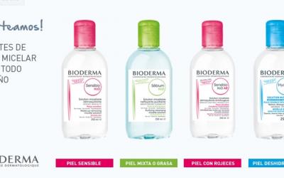 lote de Agua Micelar Bioderma