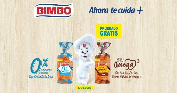 Prueba gratis el nuevo BIMBO TeCuida+