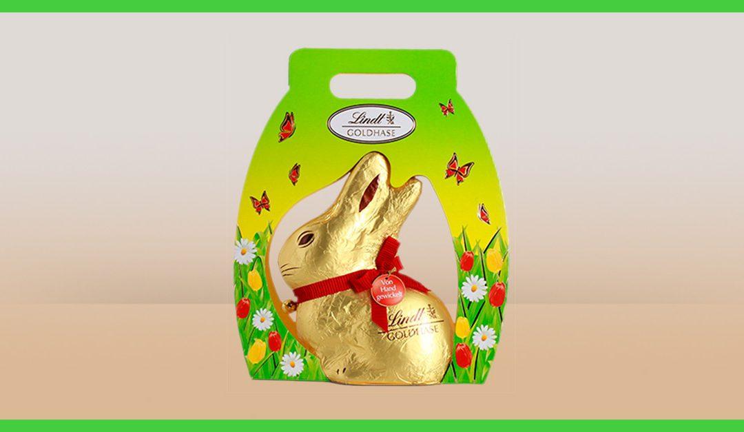 Consigue gratis una muestra de los conejos de chocolate Lindt