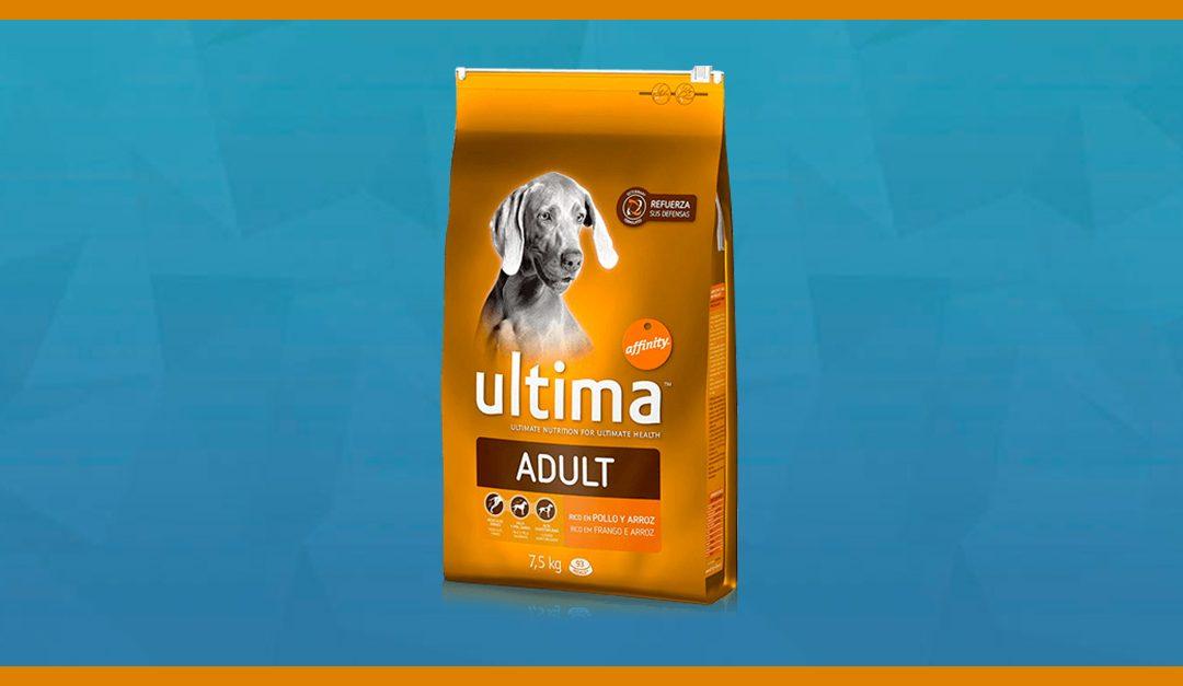 Consigue gratis una muestra de comida para perro Ultima