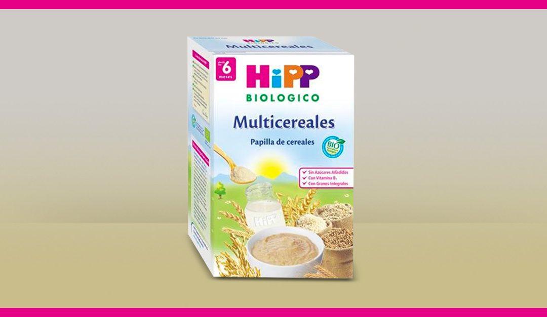 Consigue gratis una muestra de papilla HiPP Biológico