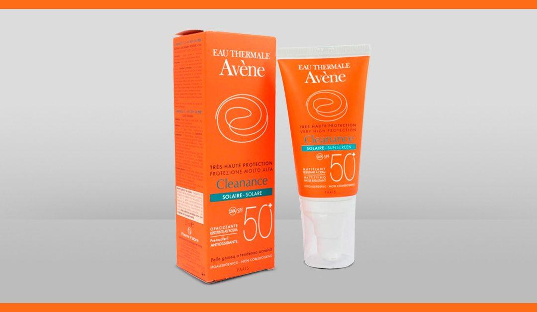 Consigue gratis una muestra de la crema protectora solar Cleanance de Avène