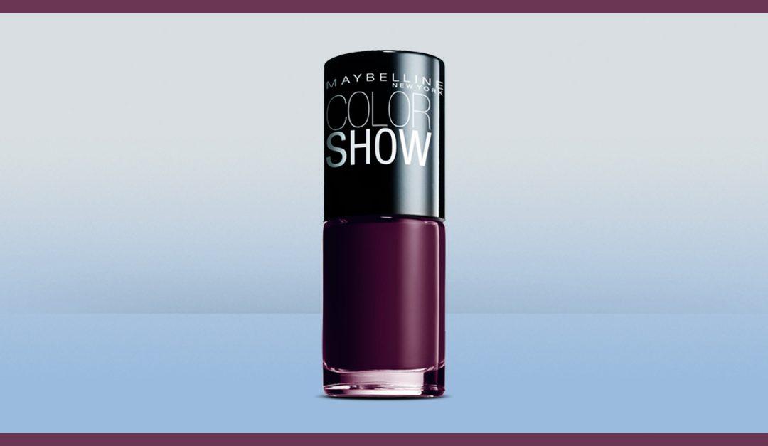 Consigue gratis una muestra del esmalte Maybelline Color Show