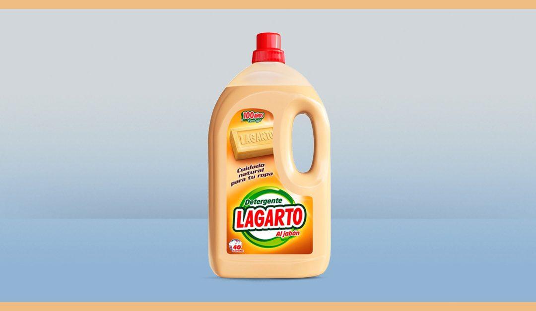 Consigue gratis una muestra del Detergente Lagarto Al jabón