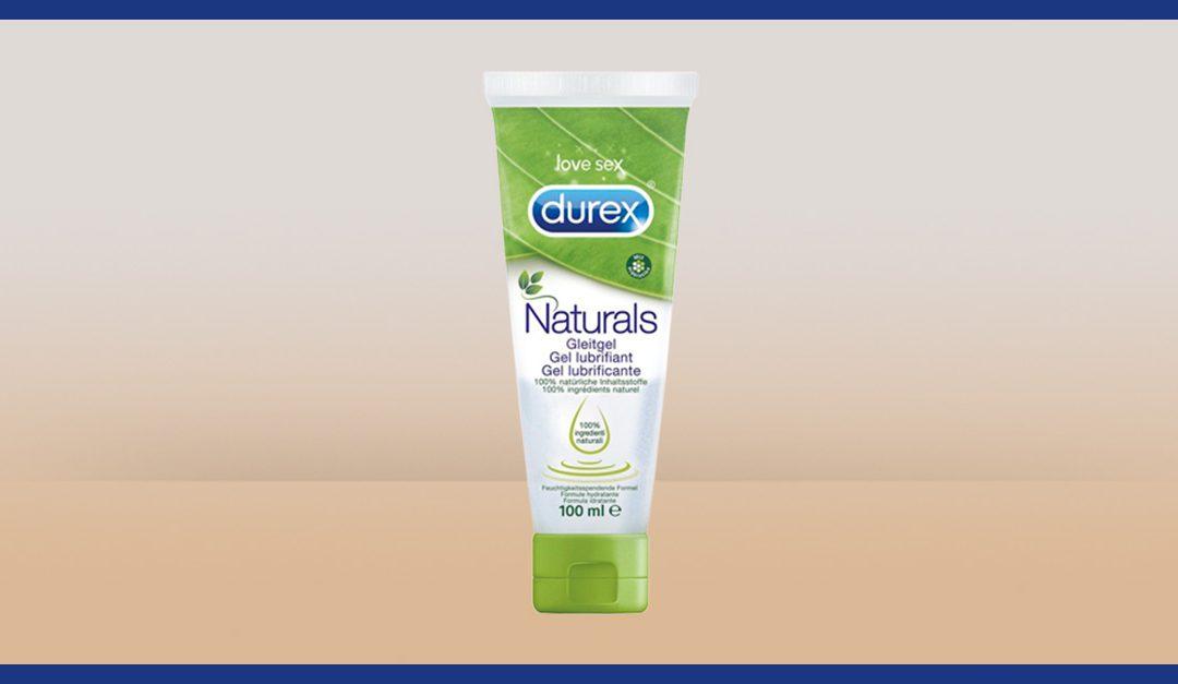 Consigue gratis una muestra de Durex Naturals Pleasure Gel