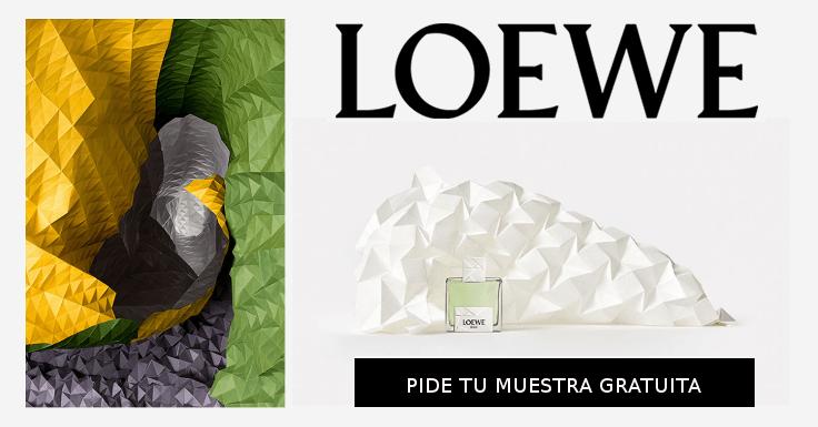 Pide gratis tu muestra del perfume Solo Loewe Origami