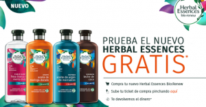 gratis el nuevo Herbal Essences