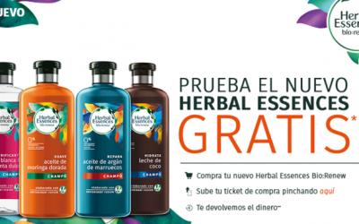 gratis el nuevo Herbal Essences