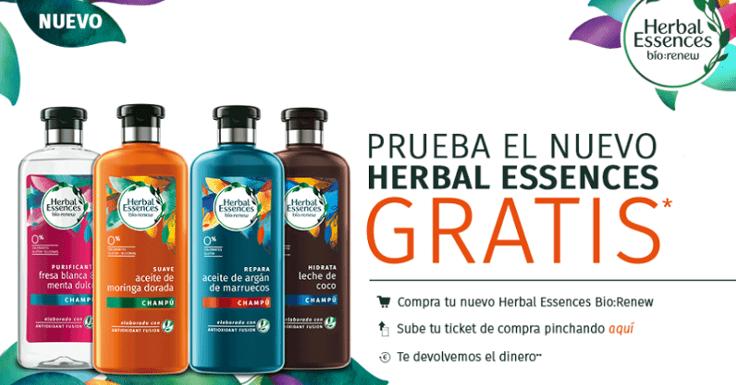 ¡Prueba gratis el nuevo Herbal Essences!