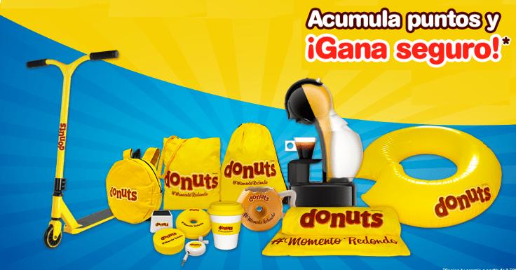 Consigue regalos seguros con Donuts