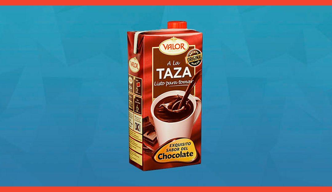 Consigue gratis el Chocolate Valor a la taza listo para tomar
