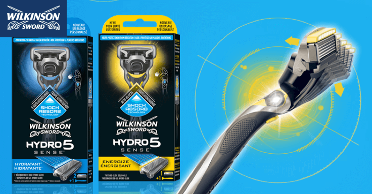 Prueba Gratis las maquinillas de afeitar Wilkinson Hydrosense