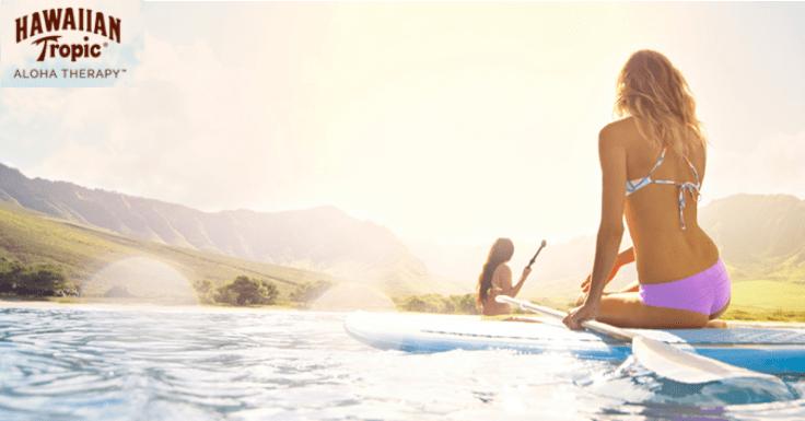 Llévate una Experiencia gratis con Hawaiian Tropic