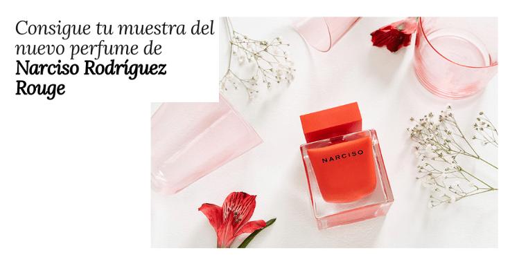 Pide tu muestra gratuita de Narciso Rouge