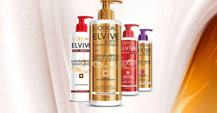 ¡Hazte con un el nuevo Low Shampoo de L'Oréal!