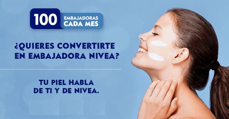 """¡Conviértete en Embajadora Nivea """"Cuerpo 10 en 10 días""""!"""