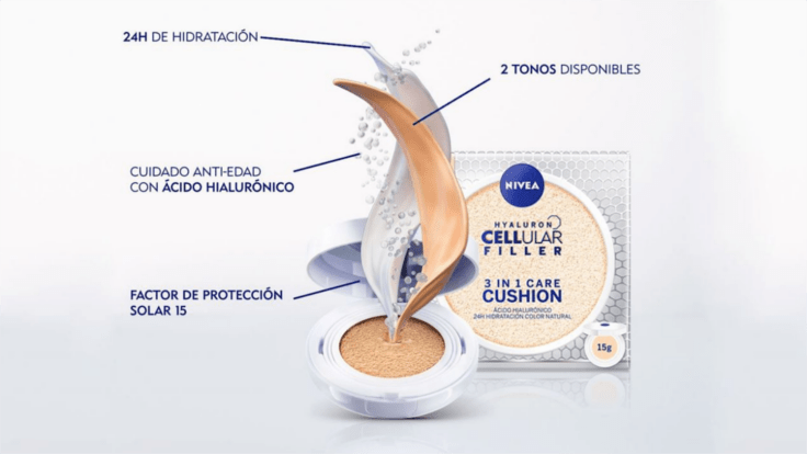 Consigue gratis tu Nivea Cushion 3en1