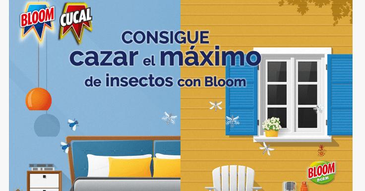 ¡Consigue un lote de productos Bloom antimosquitos!