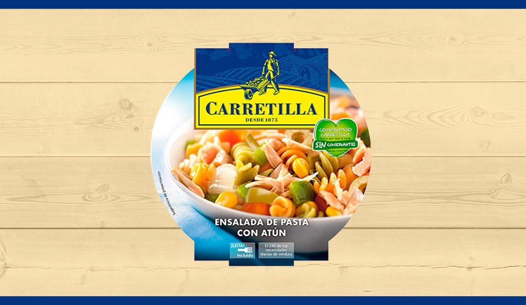 Consigue gratis una muestra de la ensalada de pasta con atún Carretilla
