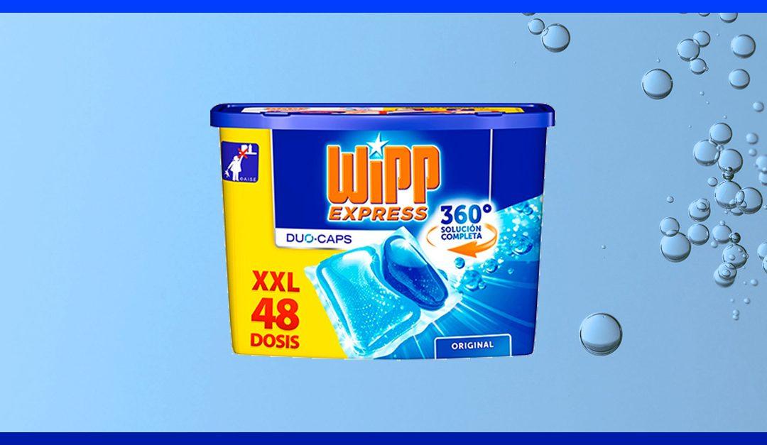 Consigue gratis una muestra de Wipp Express Duo Caps