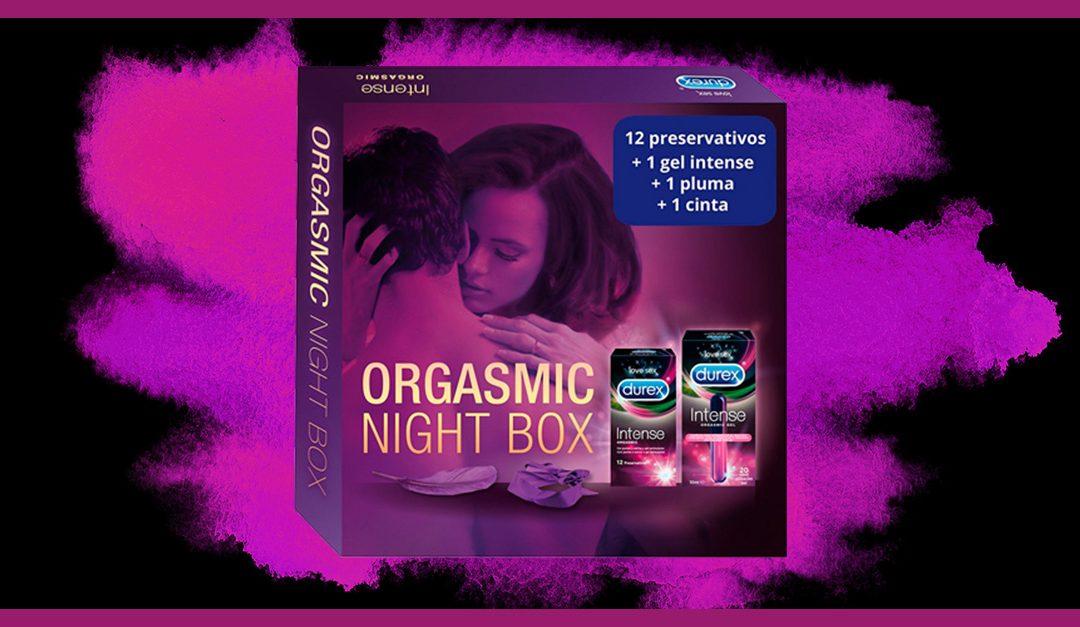 Consigue gratis una muestra de la Orgasmic Night Box de Durex