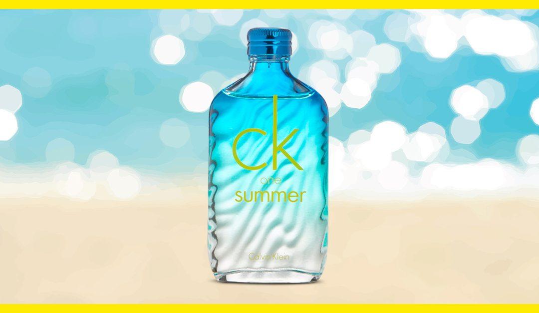 Consigue gratis una muestra de CK One Summer