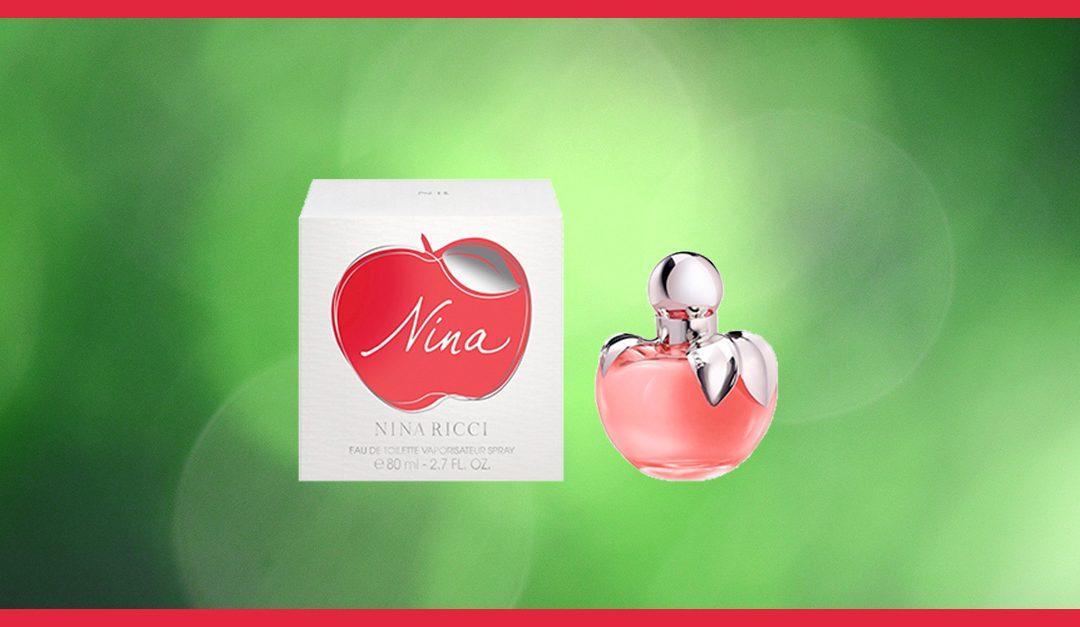 Consigue gratis una muestra del perfume Nina de Nina Ricci