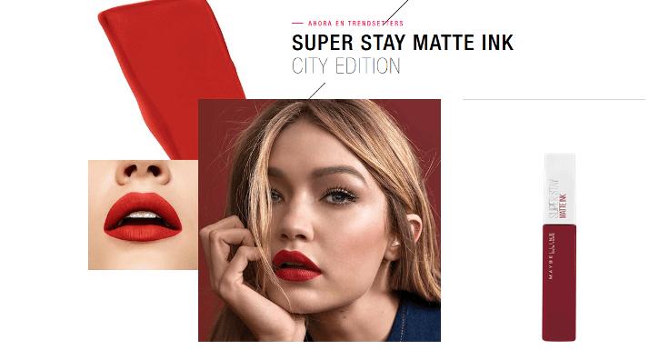 Prueba gratis el nuevo Super Stay Matte Ink