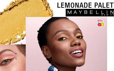 sombras Lemonade Palette de Maybelline