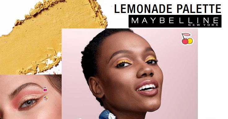 Prueba gratis las sombras Lemonade Palette de Maybelline