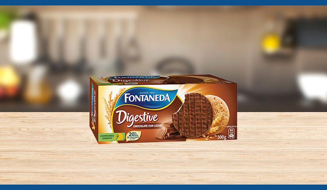Consigue gratis las galletas Fontaneda Digestive
