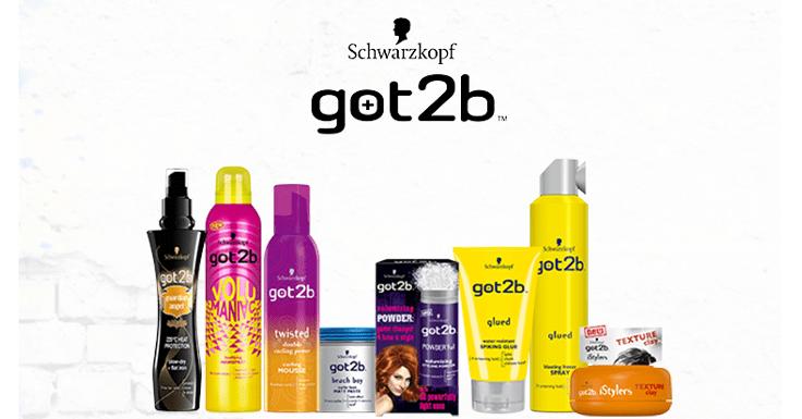 Llévate gratis un producto Got2B de Schwarzkopf