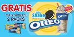 Shake Oreo gratis