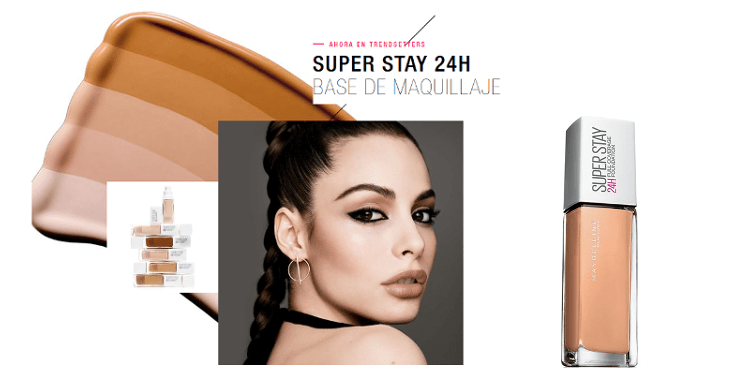 Prueba gratis Super Stay 24H de Maybelline