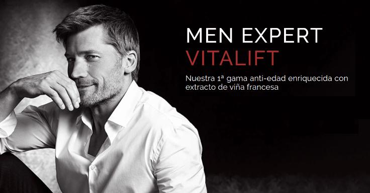 Solicita tu muestra gratis de Vitalift Men Expert