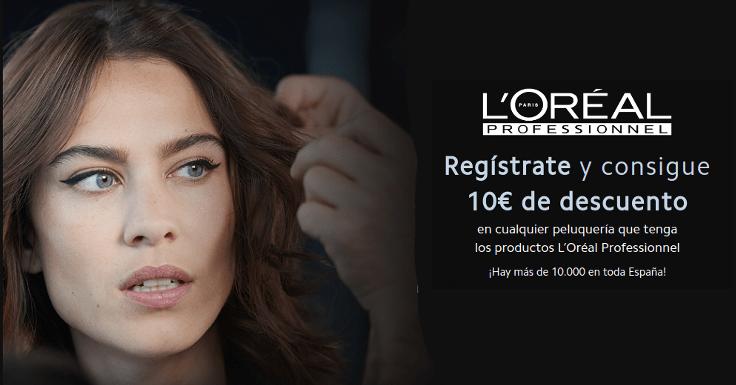 Ahorra 10 euros en tu salón L'Oréal Professionnel