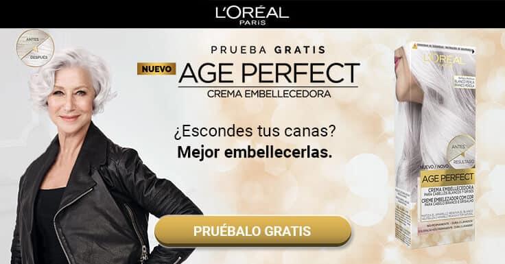 Prueba gratis el nuevo Age Perfect Crema embellecedora