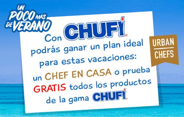 Gana Chufi gratis o una cena Mediterránea