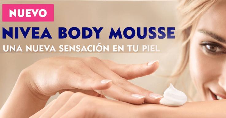 Prueba gratis el nuevo Nivea Body Mousse