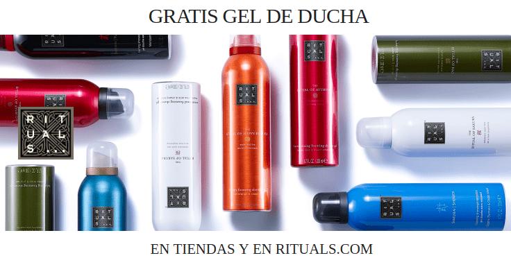 Consigue gratis un gel de ducha Rituals valorado en 8'50 euros