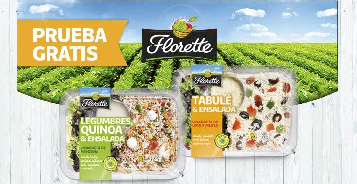 Prueba gratis las nuevas ensaladas de Florette