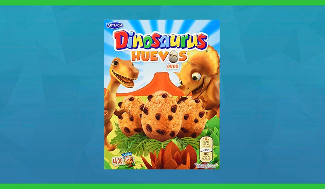 Consigue gratis una muestra de las galletas Dinosaurus Huevos