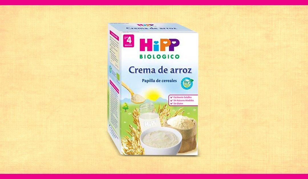 Consigue gratis una muestra de Hipp Biológico Crema de arroz