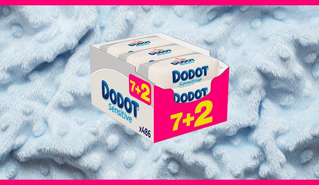 Consigue gratis las toallitas Dodot Sensitive