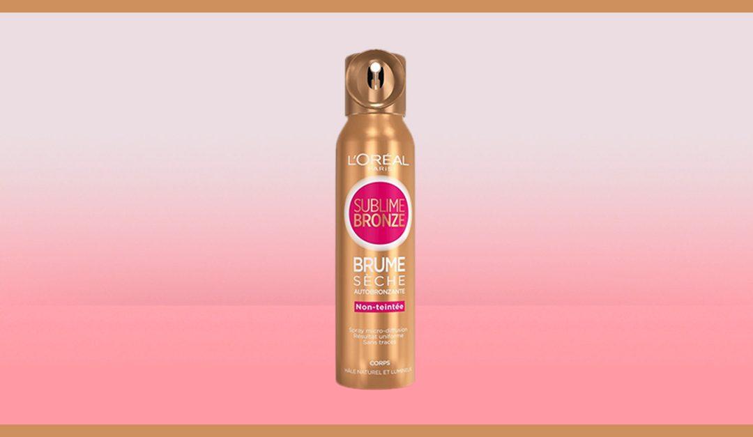 Consigue gratis una muestra de L'Oréal Sublime Bronze